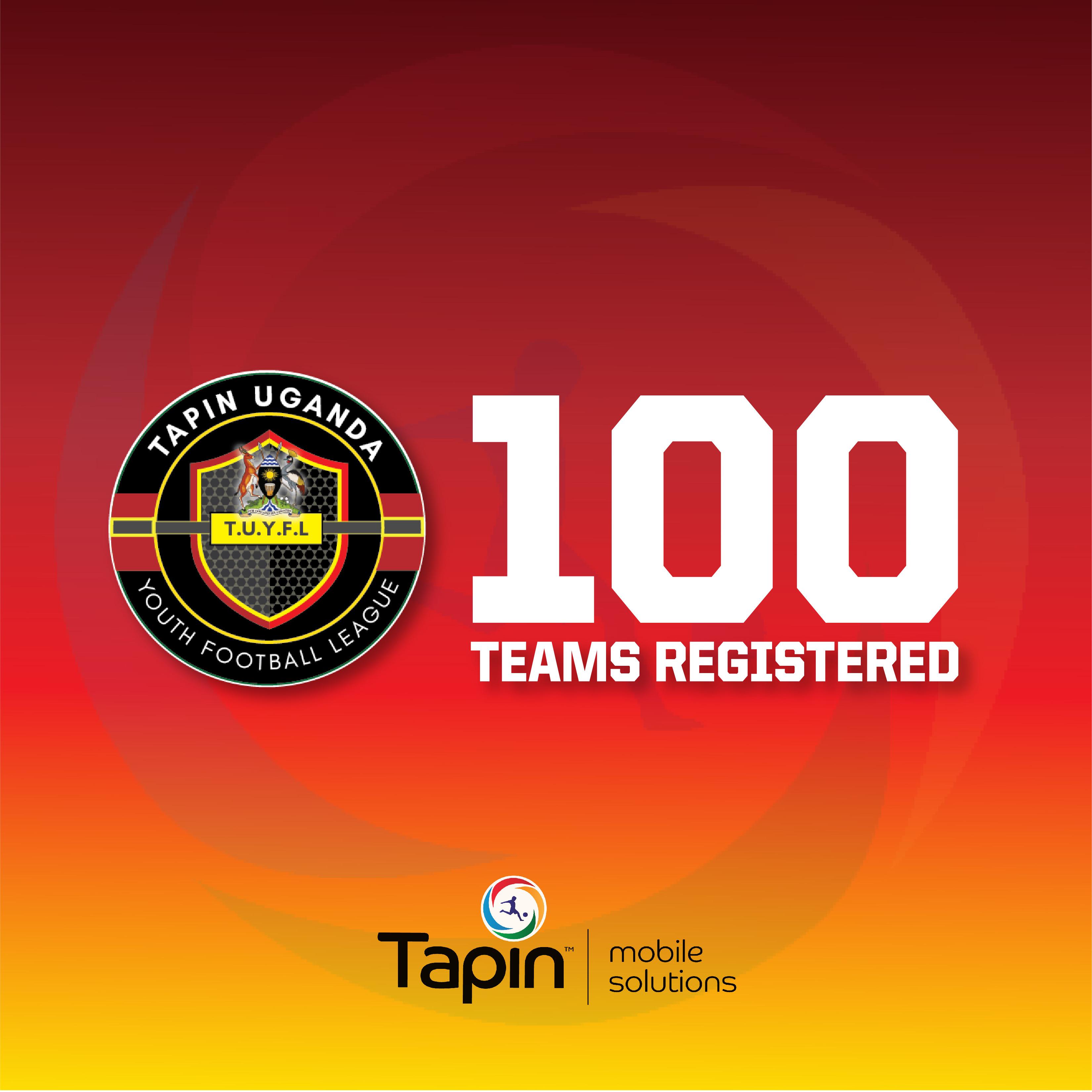 TUYFL Reaches 100 Team Milestone