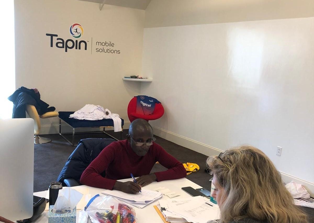 Linus Wamanya Visits TapIn HQ